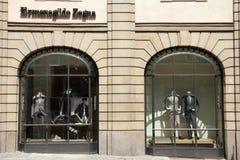 Fashion brand - Ermenegildo Zegna Stock Photography