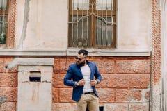 Fashion brard man Royalty Free Stock Images