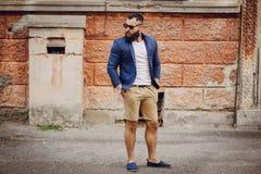 Fashion brard man Stock Photos