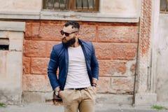 Fashion brard man Royalty Free Stock Image