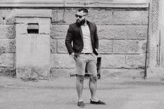 Fashion brard man Stock Photography