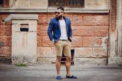 Fashion brard man Stock Photo