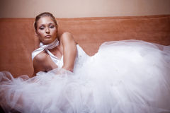 Fashion bride Royalty Free Stock Photography
