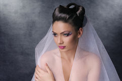 Fashion of bride Royalty Free Stock Images