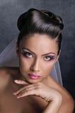 Fashion of bride Royalty Free Stock Photo