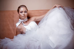 Fashion bride Royalty Free Stock Image
