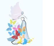 Fashion Bride Stock Image