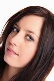 Fashion brunette girl portrait Stock Images