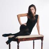 Fashion brunette Royalty Free Stock Photo