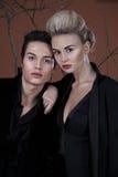 Fashion business couple Stock Photos