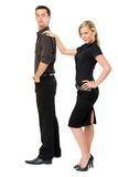 Fashion businesscouple Royalty Free Stock Photography
