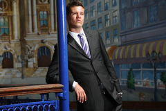 Fashion Businessman Stock Photography