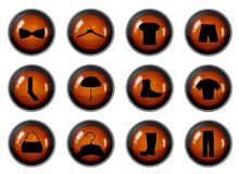 Fashion Buttons Stock Photo