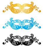 Fashion carnival mask illustration Stock Image