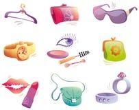 Fashion аccessories set. Stock Photo