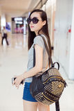 Fashion chinese girl Stock Photo