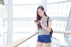 Fashion chinese girl Royalty Free Stock Photo