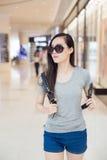 Fashion chinese girl Stock Photos