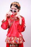 Fashion Chinese style —— Chinese wedding dress stock images