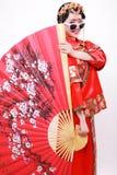 Fashion Chinese style —— Chinese wedding dress stock photo