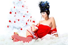 Fashion christmas Royalty Free Stock Images