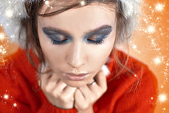Fashion Christmas girl