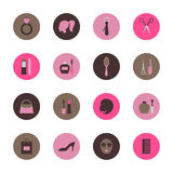 Fashion circle icon Royalty Free Stock Image