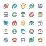 Fashion and Clothes Cool Vector Icons 2 Royalty Free Stock Photography