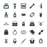 Fashion and Clothes Cool Vector Icons 3 Royalty Free Stock Photo
