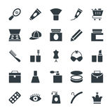 Fashion and Clothes Cool Vector Icons 2 Royalty Free Stock Photo