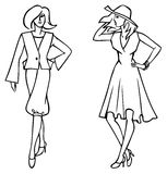 Fashion clothes Royalty Free Stock Image