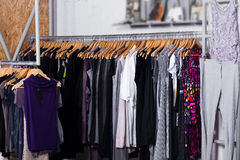 Fashion Clothes For Sale Stock Photography