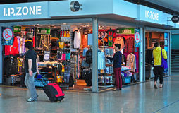 Fashion clothes store in hong kong Stock Images
