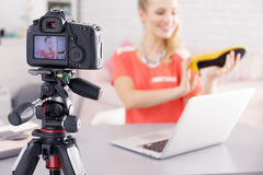 Fashion and clothing video royalty free stock image