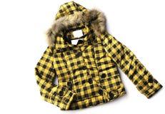 Fashion coat for lady Royalty Free Stock Image