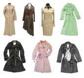 Fashion coats stock photography