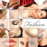 Fashion collage Stock Image