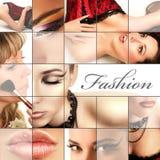 Fashion collage Stock Image