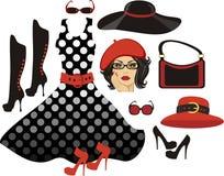 Fashion collection Royalty Free Stock Photos