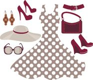 Fashion collection Royalty Free Stock Photo