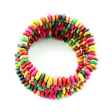 Fashion colorful  bracelet Royalty Free Stock Image
