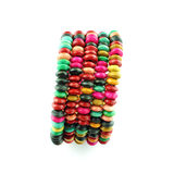 Fashion colorful  bracelet Stock Photo