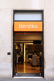 Fashion company - Bershka. VALENCIA - OCTOBER 10: Bershka store on October 10, 2010 in Valencia, Spain. The outlet brand belongs to Inditex, one of the world's royalty free stock images