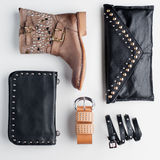 Fashion composition Royalty Free Stock Photography