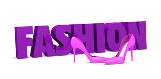 Fashion concept Royalty Free Stock Photos