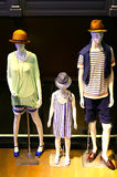Fashion concept for family Royalty Free Stock Photography