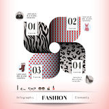 Fashion Concept Graphic Element. Fashion Concept Illustration and Icon Royalty Free Stock Photos