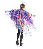 Fashion conscious drag queen Stock Images