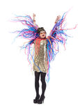 Fashion conscious drag queen Royalty Free Stock Images