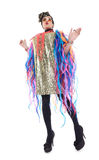 Fashion conscious drag queen Royalty Free Stock Photos